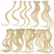 Hothair Clip in Extensions 48cm Human Hair 10 Pieces for Full Head