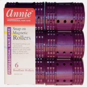 *NEW*Hair Rollers PROFESSIONAL SNAP ON MAGNETIC (X JUMBO) All Sizes - Set Hair Dry or damp