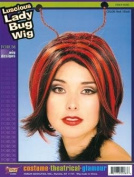 NEW LADY BIRD BUG WIG & ANTENNAE FANCY DRESS