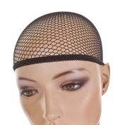 Fish Net Wig Cap in Black | pack of 3