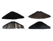 Costumes For All Occasions CB33GY Moustache Triangle Grey