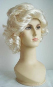 Wigs women white/blonde Carnival