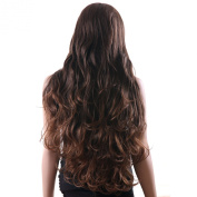 Songmics Fashion Lady's Wig Female Wavy Curly Long 61cm WFS133