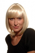 BOB lady QUALITY wig DOM & SEXY PAGE PLATINUM BLOND