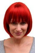 BOB lady quality wig SEXY red Burlesque FEMDOM