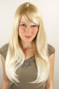 VERY CHIC Lady Quality Wig mixed BLOND blonde STRAIGHT 3115-24BT613 50 cm Peluca Parrucca
