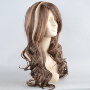 NEW STYLE Sexy Beautiful Long Wavy Cocoa mix wig Brown mix Blonde Wigs UK WIWIGS