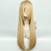 Dense impervious light Blonde mix Straight Heat Resistant Fancy Cosplay Wigs UK