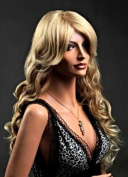 Forever Young Ladies XXX Long 2 Tone Sandy & Platinum Blonde Wig Wavy Style. Vogue Wigs UK!
