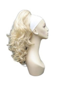 Light Blonde, Curly Hairpiece Ponytail Extension