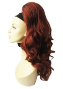 Red Hairpiece Ponytail Extension #613