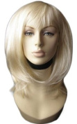 Annabelle's Wigs A Light Blonde, Face Frame, Layered Wig