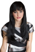 Very Natural, Black, Razor Cut, Face Frame Wig