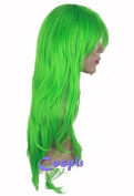 Cosplayland C270 - Bleach Nel green layered curly Cosplay Party heat-resistant Wig