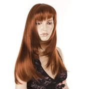 Ginger Redhead Wig | Face Framing Fringed 70's Goldie wig | High Heat Style-able.