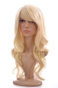 Long Blonde Fearne Fashion Wig | Celebrity Wave Style | Heat Style-Able Hair-like Fibre | Available in a range of shades.
