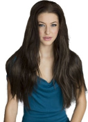 Annabelle's Wigs Brown Long Straight 3/4 Or Half Wig Hairpiece Extension:Kimberly 250g