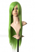 Cosplayland C064 - 80cm fresh grass Green Code Geass C.C Lelouch straight long heat-resistant Wig