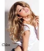Chloe - Long Sexy Blonde Best Price Wig Is Now Available In This Feminine Mix Of Mid and Light Blonde Colours - Number 14 and 16 - (See Hair Sample Below). This Fashionable Elegant Long Blonde Style Is Made Of The Highest Quality Fibre Hai ..