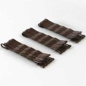 Hair Pins (Brown, 50 pcs)