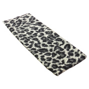 Grey Leopard Animal Print Stretchy Hair Band for Women or Girl Fashion Accessories