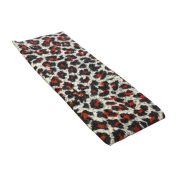 Red Leopard Animal Print Stretchy Hair Band for Women or Girl Fashion Accessories