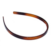 Bling Online 10mm Tortoise Shell Effect Alice Hair Band Headband.