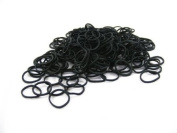 Pack of 250 Small Mini Hair Elastics Rubber Braiding Bands for Dreads Cornrows Braiding