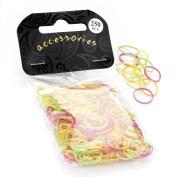 Divadoo 250 Piece Neon Tone Hair Elastic Bands