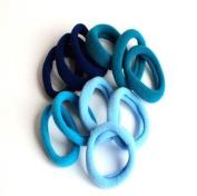 12 Blue Tone Hair Ponios IN9781