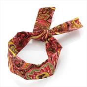 Bright Floral Wired Headband AJ23302