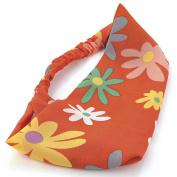 Orange Daisy Head Wrap/Headband AJ25708