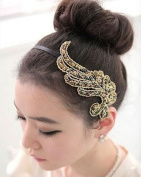 WIIPU Fashion Plant Style Blink Headband Hair Accessories