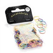 Divadoo 250 Piece Bright Tone Hair Elastic Bands