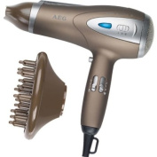 AEG Professional Hairdryer With Eco Save and Ion Technology Brown