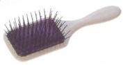 Paddle Brush 180x59mm, Kunststoffstifte mit Kugelköpfchen