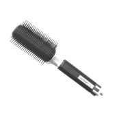 SIBEL Ion-X 130 Anti-Static 9-row hair brush - With PVC Pins