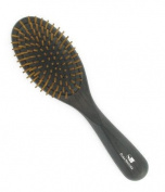 Ash Wood Hair Brush With Wooden Pegs