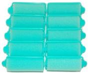 Pack of 10 Large Foam Hair Rollers [2.5cm in diameter] Brand New in Packet
