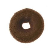 Pro Salon Hair Bun Ring/Doughnut 9cm - BROWN