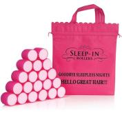 Sleep-In Rollers Mega Bounce Rollers X 20 Plus Drawstring Bag