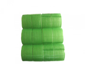 Pack of 6 hook and loop Self Grip Rollers. Approx 5cm Diameter.