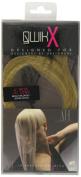 Qwik X 100 Percent Indian Remi Human Hair Tape Hair Extensions Colour 22/ 25 Beach Blonde/ Light Blonde 41cm