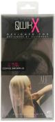 Qwik X 100 Percent Indian Remi Human Hair Tape Hair Extensions Colour 3 Medium Brown 41cm