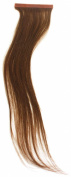 Qwik X 100 Percent Indian Remi Human Hair Tape Hair Extensions Colour 1.8kg Dark Golden Brown 41cm