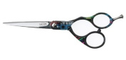 ULTRON Concave 14cm Hairdressing scissors - Techno print