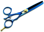 Titanium Coated Professional Thinning Scissors 14cm Barber Hairdressing Thinning Scissors In Gift Packing