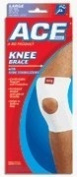 Becton Dickinson Ace Brand Plus Knee Brace/Support W/Stabilise, Large