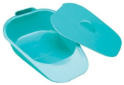Adult Slipper Bed Pan With Lid