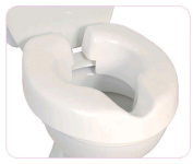 NRS Novelle Portable Clip-On Raised Toilet Seat
